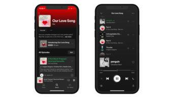 Spotify permitirá que podcasts incluam músicas inteiras em episódios