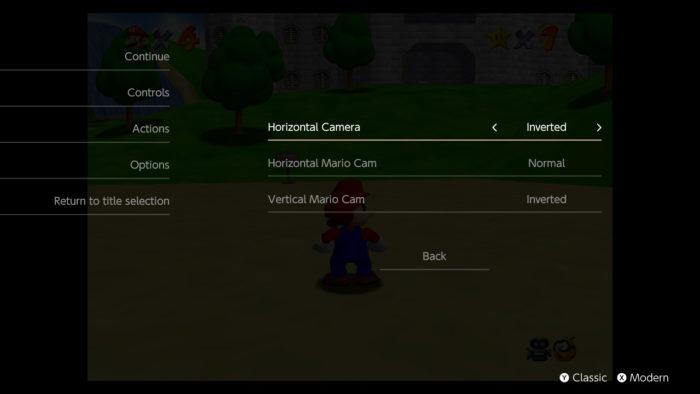 Exemplo de câmera em Super Mario 64 (Imagem: Nintendo)