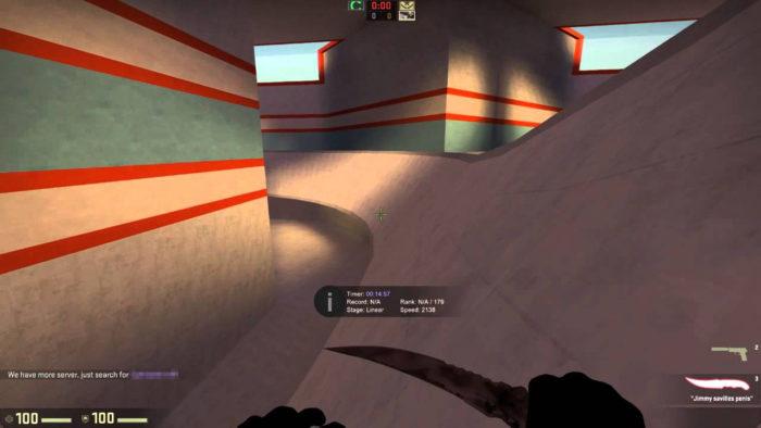 Surfando em CS:GO (Imagem: Valve/Reprodução)