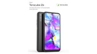 Teracube 2E é um celular Android sustentável com 4 anos de garantia