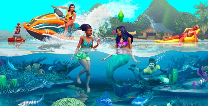 Sims 4 and its expansions are among the Xbox Live promotions (Image: EA)