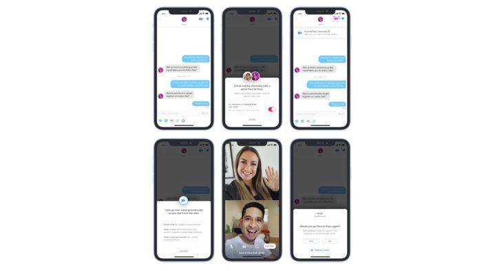 Videoconferência do Tinder (Imagem: Divulgação/Tinder)