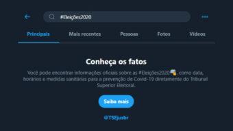 Twitter e TSE criam hashtags e emojis para Eleições 2020