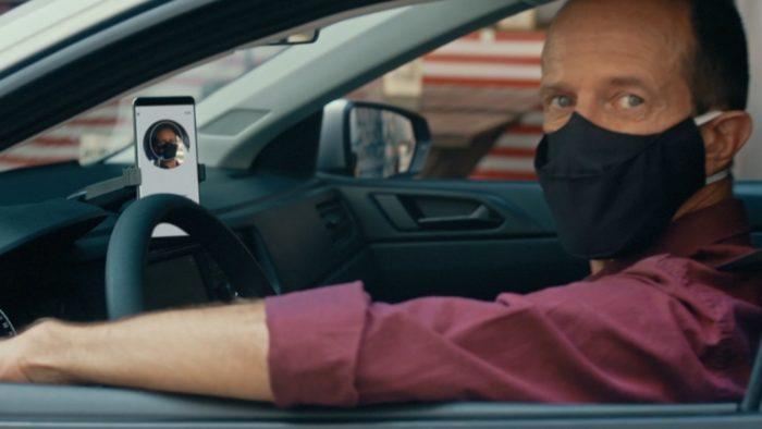 Uber - máscara