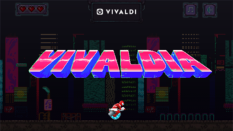 """Vivaldi ganha """"rival"""" do jogo de dinossauro no Google Chrome"""