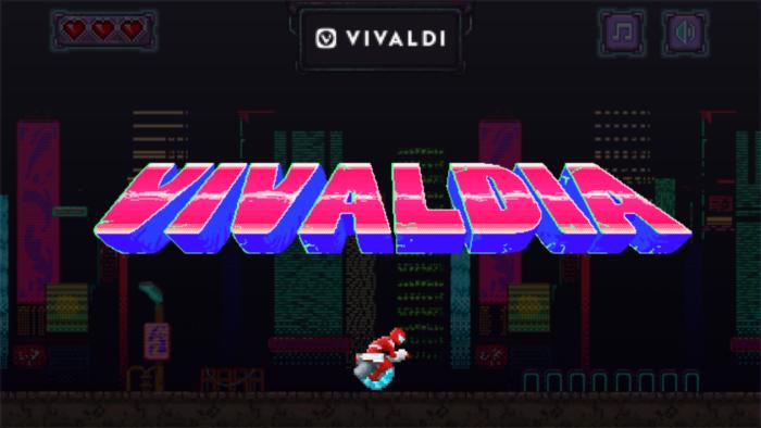 Vivaldia, game dentro do navegador Vivaldi (Imagem: divulgação/Vivaldi)