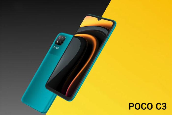 Xiaomi Poco C3 (Imagem: Divulgação/Xiaomi)