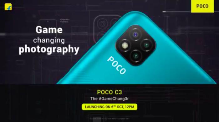 Xiaomi Poco C3 (Imagem: Reprodução/Twitter)