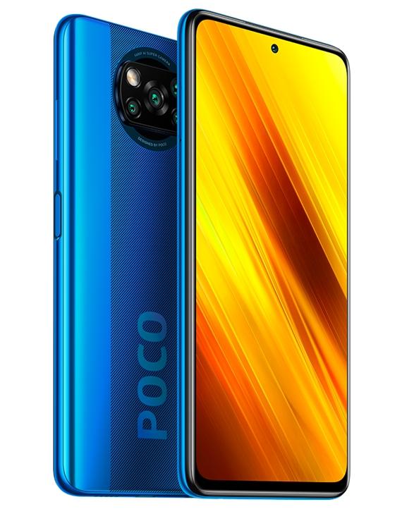 Xiaomi Poco X3 blue