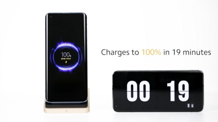 Xiaomi mostra recarga rápida sem fio de 4.000 mAh em 19 minutos miniatura