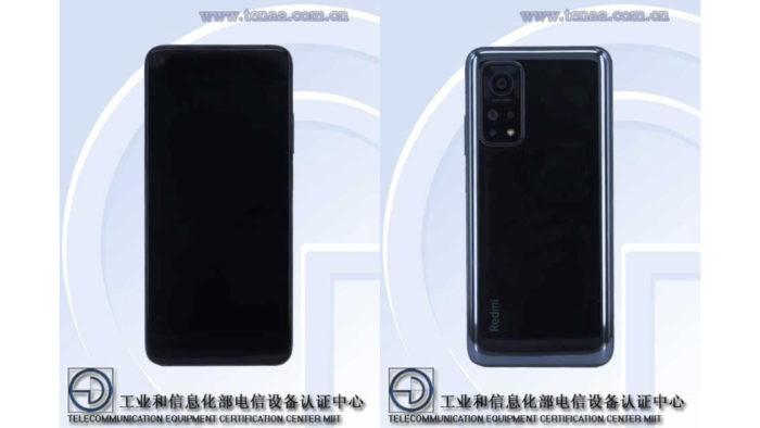 Xiaomi Redmi K30S aparece no site do TENAA (Imagem: Reprodução/TENAA)