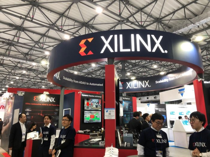 Estande da Xilinx (imagem: divulgação/Xilinx)