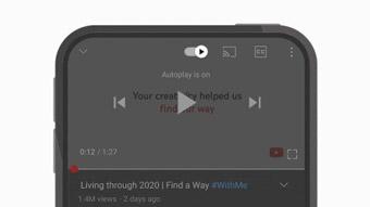 YouTube atualiza app com novos gestos e controles em vídeos