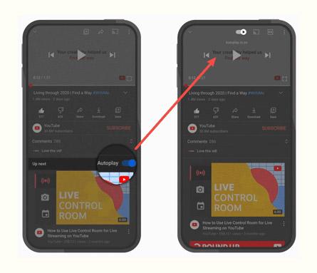 YouTube destaca recurso de reprodução automática (Imagem: Divulgação/YouTube)