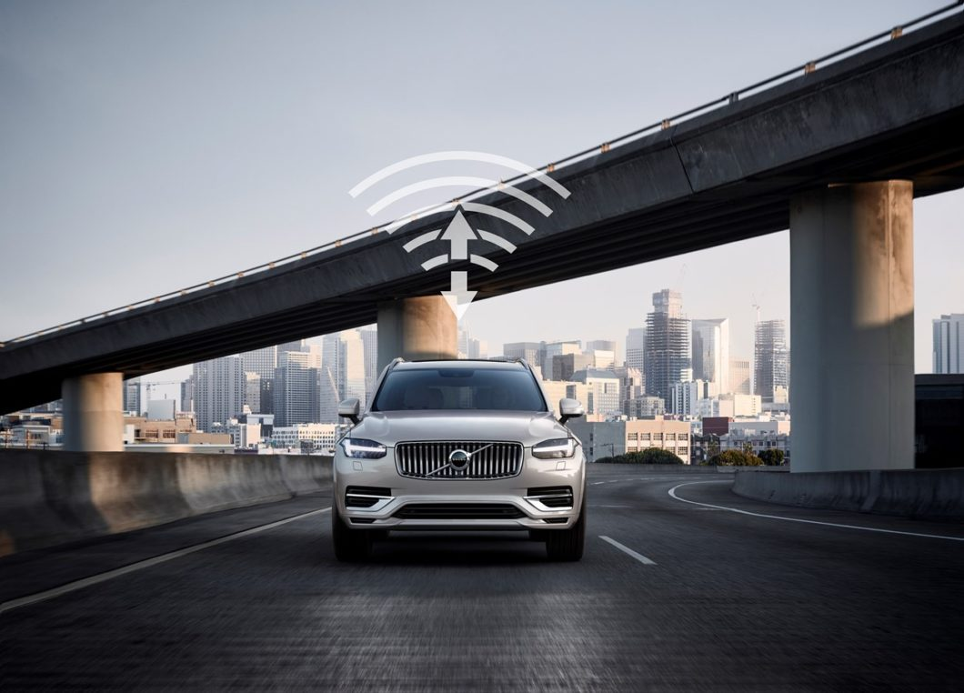 Volvo and China Unicom are working on the development of 5G communication technology in China (Image: Press Release / Volvo)