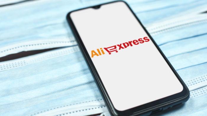 Compras online no <a href='https://meuspy.com/tag/Aplicativo'>aplicativo</a> do AliExpress (Imagem: Marco Verch/Flickr)
