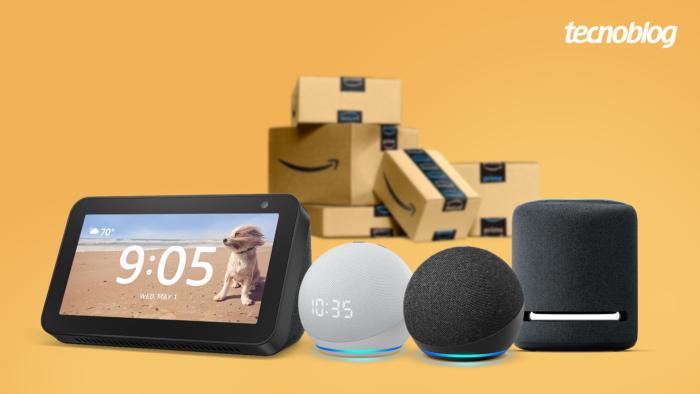Amazon dá desconto em Echo com Alexa (Imagem: Vitor Pádua/Tecnoblog)