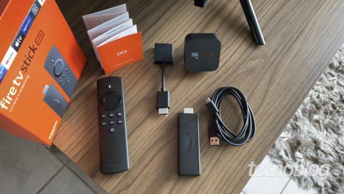 Amazon Fire TV Stick Lite (Imagem: Darlan Helder/Tecnoblog)