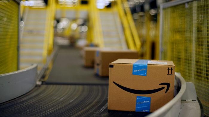 Centro de distribuição (Imagem: Divulgação/Amazon)