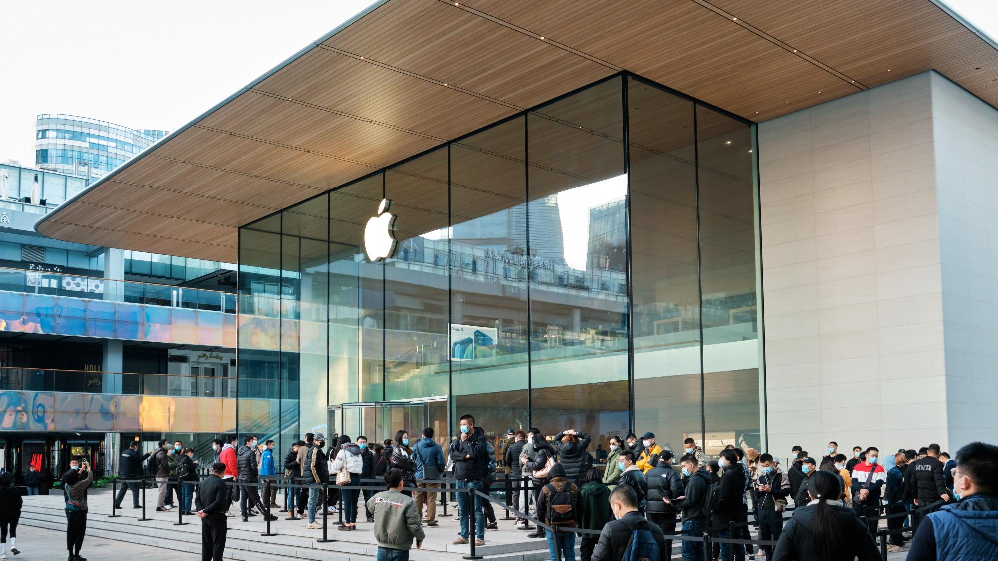Apple Store de Sanlitun, na China (Imagem: Divulgação)