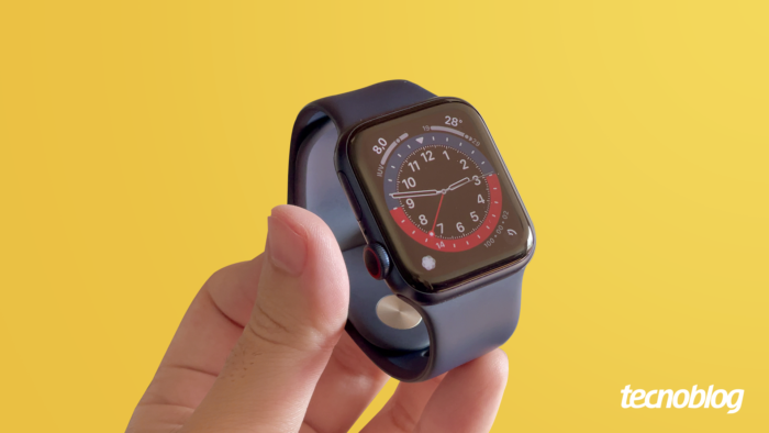 Apple Watch Series 6 (Imagem: Vitor Pádua/Tecnoblog)