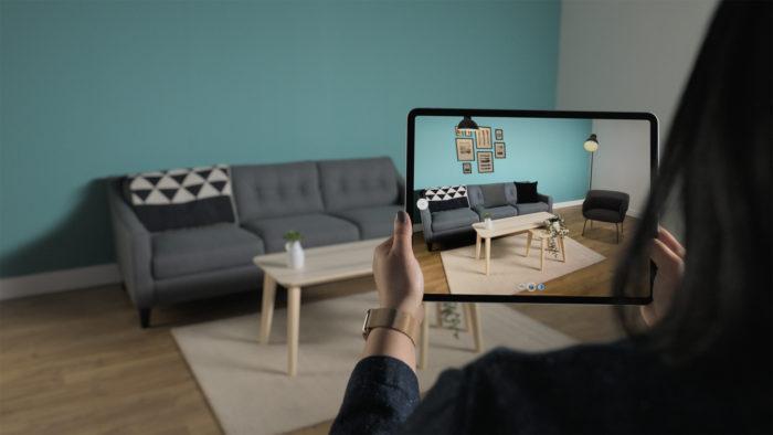 Scanner LiDAR do iPad Pro 2020