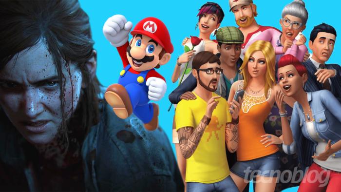 Black Friday 2020 tem jogos digitais para PS5, PS4, Xbox One e Switch mais baratos (Imagem: Vitor Pádua/Tecnoblog)