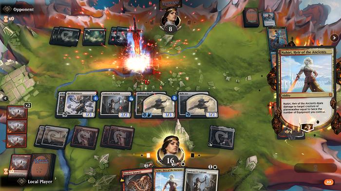 Arena de combate (Imagem: Wizards of the Coast/Divulgação)
