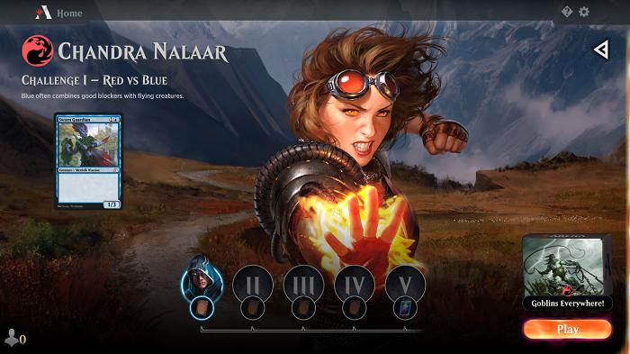 Magic: The Gathering Arena já pode ser baixado no Android (Imagem: Leandro Kovacs/Reprodução)