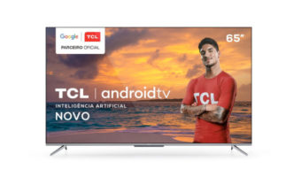 Semp TCL lança TV 4K P715 com Android TV e comando de voz