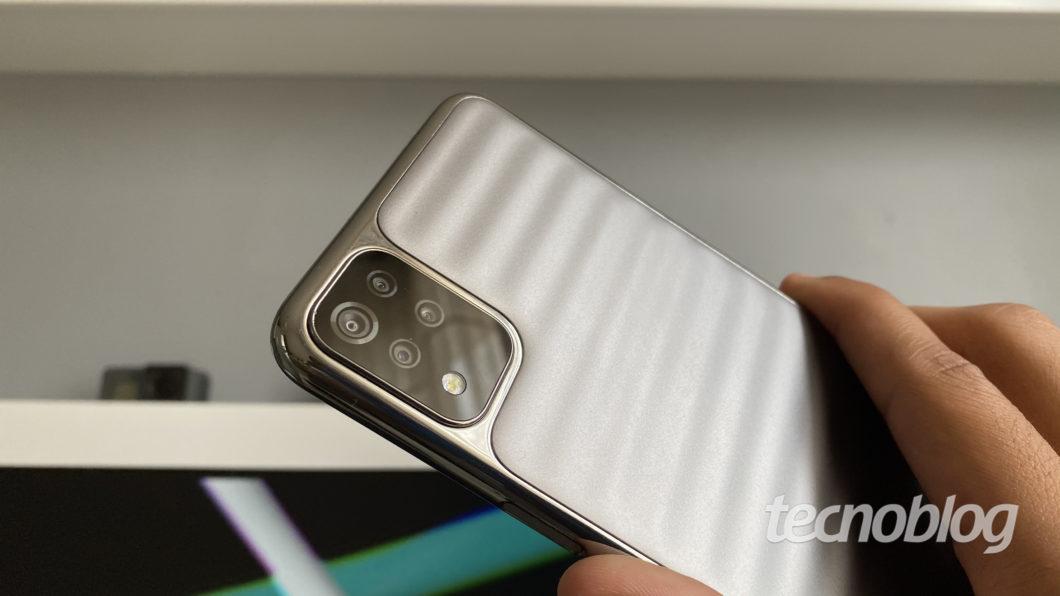 LG K52 (Imagem: Darlan Helder/Tecnoblog)