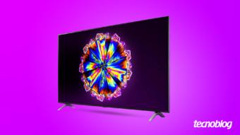 TV 4K LG Nano90: grande para salas grandes