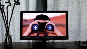 "O que significa ""from Facebook""?"