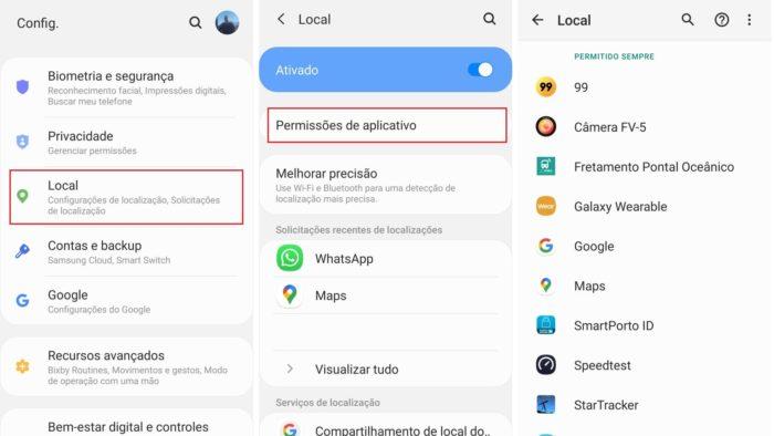 Como saber quais apps acessam minha localização no Android (Imagem: Reprodução / Android)