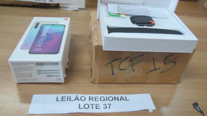Este lote tem lance mínimo de R$ 250 (Imagem: Divulgação/Receita Federal)