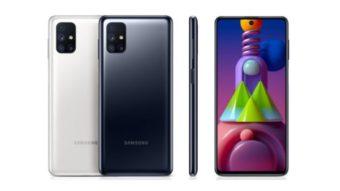 Galaxy M21s e M51 chegam ao Brasil com bateria de até 7.000 mAh
