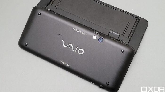 Protótipo Sony Ericsson Vaio (Reprodução/XDA Developers)