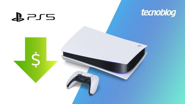 PS5 também passa a ficar mais barato (Imagem: Vitor Pádua/Tecnoblog)