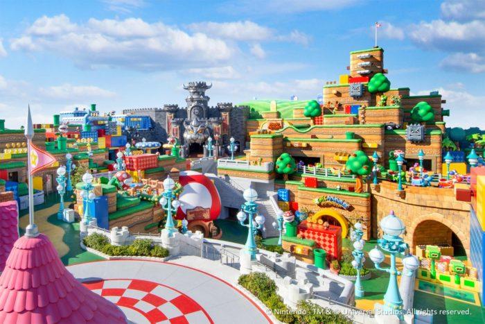 Super Nintendo World (Imagem: divulgação/Universal Studios do Japão)