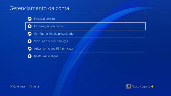 Como habilitar ADF no PS4 (Imagem: Reprodução / PlayStation)