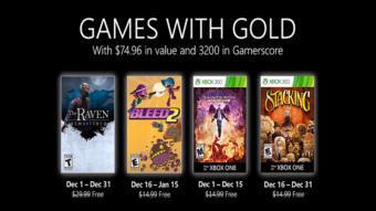 Xbox Live Gold de dezembro tem Bleed 2, Saints Row e mais jogos grátis