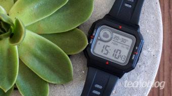 Smartwatch Amazfit Neo: de cabeça nos anos 80, mas smart