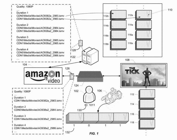 Patente da Amazon mostra técnica antipirataria (Imagem: Reprodução)