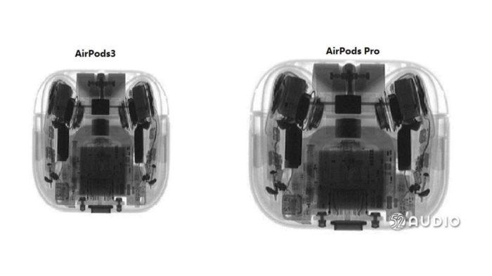 Possível Apple AirPods 3 (Imagem: Reprodução/52audio)