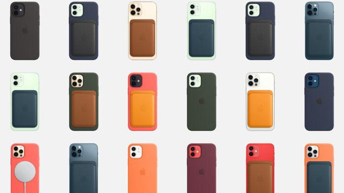 Acessórios MagSafe para iPhone 12 (Imagem: Divulgação/Apple)