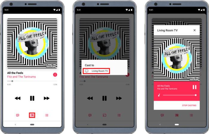 Passo a passo para usar Apple Music no Chromecast (Imagem: Reprodução/Apple)