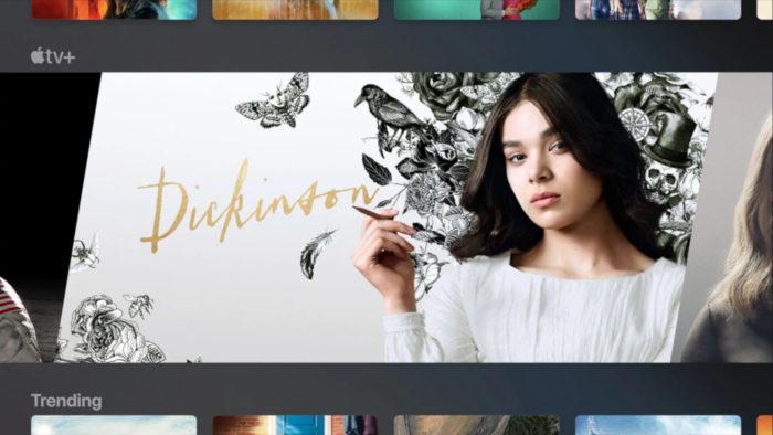 Dashboard da Apple TV+ (Imagem: Divulgação/Apple)