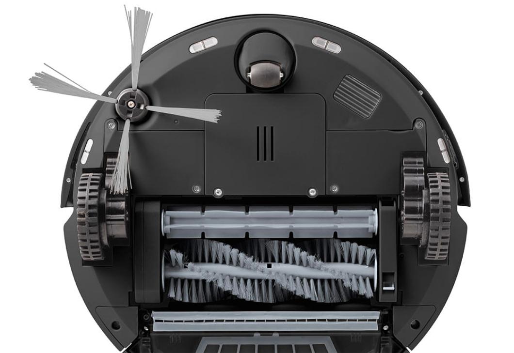 Aspiradores robôs utilizam escova para limpar cantos (Imagem: divulgação/Multilaser)