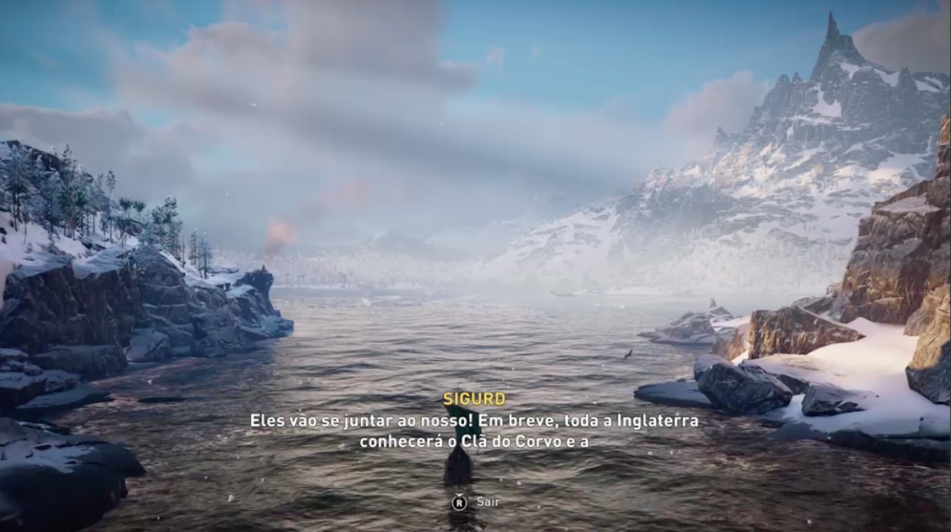 O mundo viking surge em Assassin's Creed Valhalla (Imagem: Felipe Vinha/Tecnoblog)