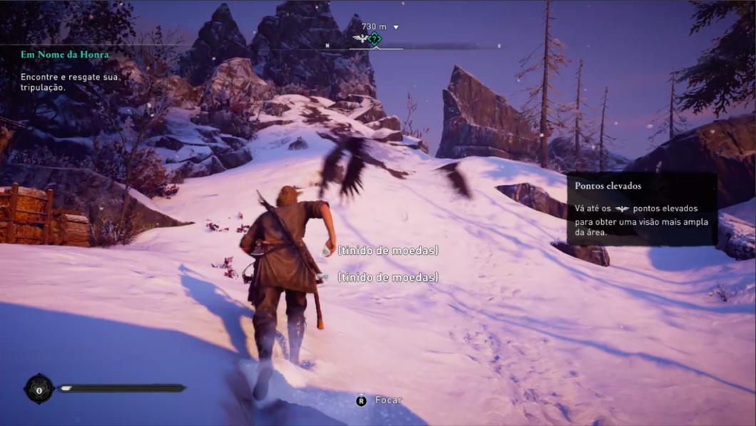 Tecnicamente impecável, Assassin's Creed Valhalla traz bons combates (Imagem: Felipe Vinha/Tecnoblog)